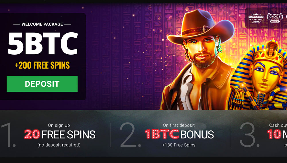 New online bitcoin casino january 2020